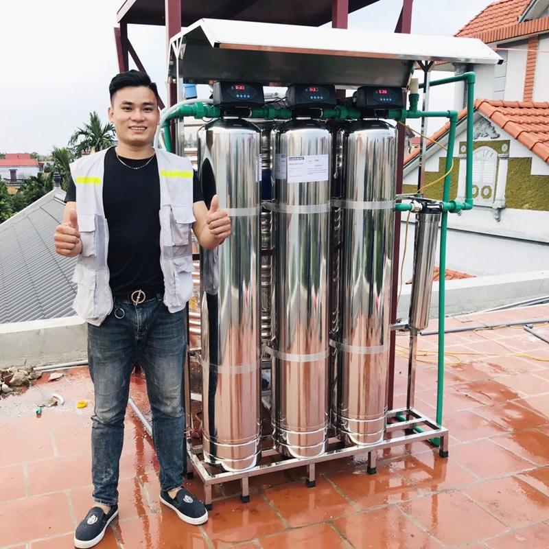 Hệ thống lọc tổng Slanper cao cấp SLP.HH301Plus inox 304