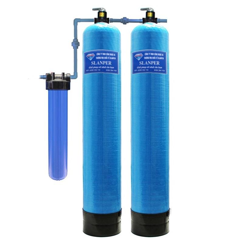 Thiết bị lọc nước giếng khoan nhiễm sắt Slanper SLP.F201